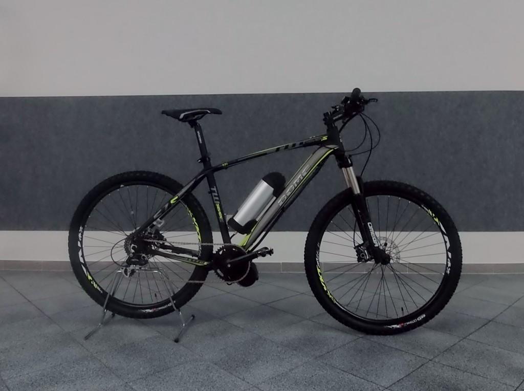 Bici elettrica tweentyseven 5 domeitalia for Bici pieghevole elettrica usata
